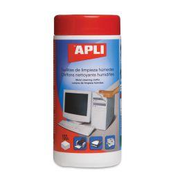 Toallitas Limpieza Apli TFT/LCD 100u