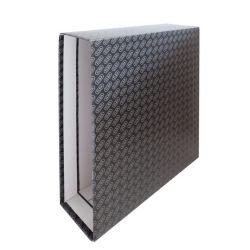 Cajetín Elba Folio Negro 85mm