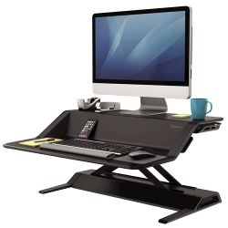 Fellowes SIT-STAND Lotus Negra