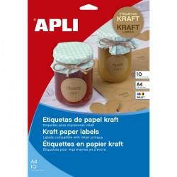 APLI 17377-99,1x57 10H A4 Kraft