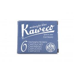 Cartucho Kaweco Azul negro 6u