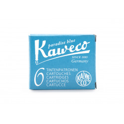 Cartucho Kaweco Turquesa 6u