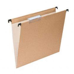Carpeta Colgante Folio Kraft Bicolor