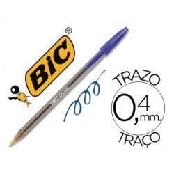 Bolígrafo BIC Cristal Azul