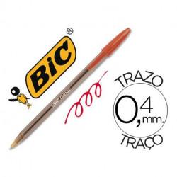 Bolígrafo BIC cristal Rojo
