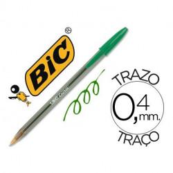 Bolígrafo Bic Cristal Verde