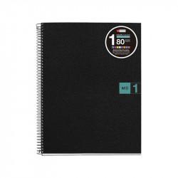 NoteBook1 A4 Basic Verde