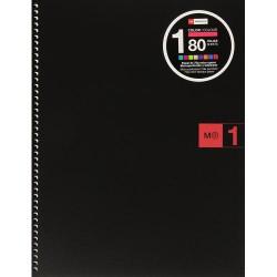 NoteBook1 A4 Basic Rojo