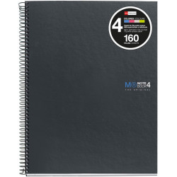 NoteBook4 A4 5x5 Basic Grafito