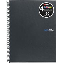 NoteBook4 A4 Liso Basic Grafito