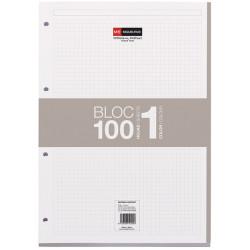 Notebook1 A4 5x5 Gris