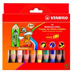 Stabilo WOODY 3en 1
