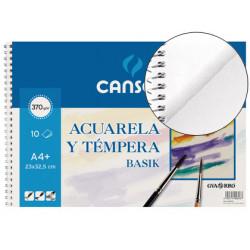 Bloc Canson BASIK Acuarela A4+10h