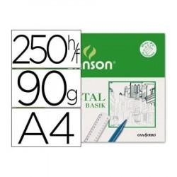 Canson Vegetal A4 95gr 250h