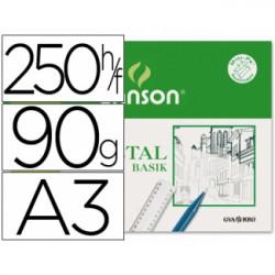 Canson Vegetal Basik A3 95gr.250h