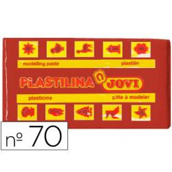 Plastilina Jovi 70 Marrón