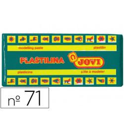Plastilina Jovi 71 Verde Oscuro