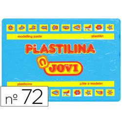 Plastilina Jovi 72 Azul Claro