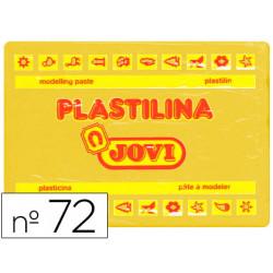 Plastilina Jovi 72 Amarillo oscuro