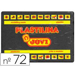 Plastilina Jovi 72 Negro