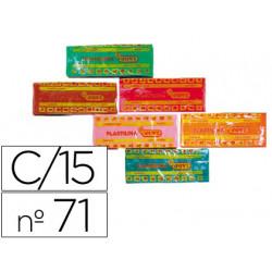 Plastilina Jovi 71 15 unidades surtidas