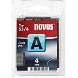 Grapas Novus A 53/4 2000u Galvanizadas