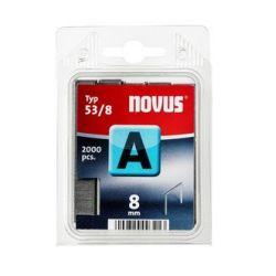 Grapas Novus A 53/8 2000u Galvanizadas