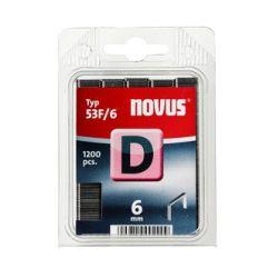 Grapas Novus D 53F/6 1200u Galvanizada