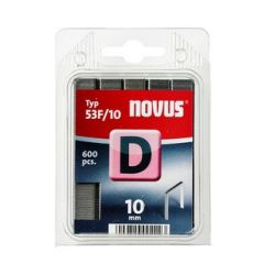 Grapas Novus D53F/10 600u Galvanizada