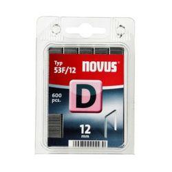 Grapas Novus D53F/12 600u Galvanizada
