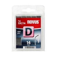 Grapas Novus D53F/14 600u Galvanizadas