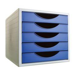 Módulo de 5 cajones ARCHIVOTEC 4000  Azul