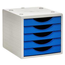Módulo de 5 cajones ARCHIVOTEC 4000  Azul Serena