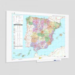 Mapa Mural Rocada España