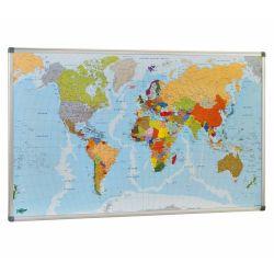 Mapa mural del Mundo Faibo