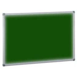 Tablero de corcho tapizado textil  Verde 90x120