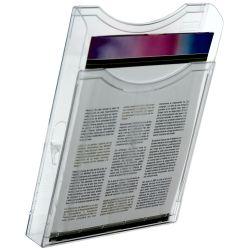 Expositor de Pared A4 horizontal  A4 Transparente de 5 a 10 unidades