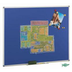 Pizarra Faibo Acero Vitrificado de Colores  azul 122x100cn