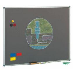 Pizarra Faibo Acero Vitrificado de Colores  gris 122x244cn