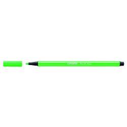 Rotulador Stabilo PEN 68  Verde fluorescente