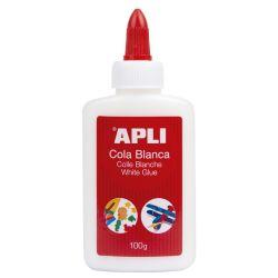 Adhesivo Cola blanca Apli  100gr
