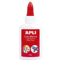 Adhesivo Cola blanca Apli  40grs