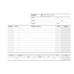 Talonario Facturas Apli 210x145mm -50/50/50 hojas