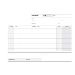 Talonario Entrega Apli 210x145mm Catalán 50/50/50 hojas