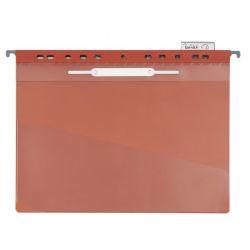 Carpeta Colgante Transparente A4  Rojo