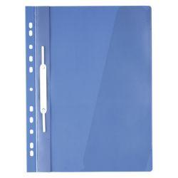Carpeta Colgante Transparente A4  Azul
