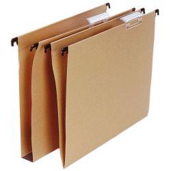 Carpeta Colgante Folio Kraft
