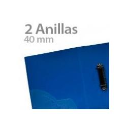Carpeta de Anillas Plástico  Negro 2 de 40mm