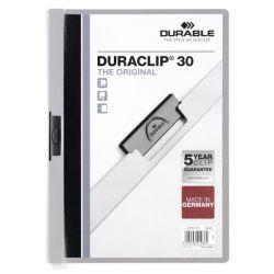Dossier con pinza DURACLIP30  Gris