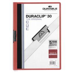 Dossier con pinza DURACLIP30  Rojo 368/948